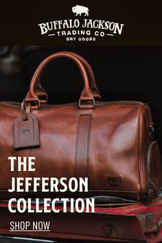 This vintage inspired collection of premium leather bags is perfect for men who appreciate quality and style. Handcrafted brown leather briefcase, attache, duffle, messenger bag, dopp kit, wallets, and more. Great gift ideas! Leather Duffle Bag, Leather Briefcase, Leather Satchel, Leather Bags, Duffel Bag, Mens Travel Bag, Travel Bags, Fashion Bags, Men's Fashion