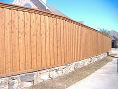 Retaining Wall Yard Privacy, Privacy Fences, Fencing, Fence Ideas, Backyard Ideas, Retaining Wall Fence, Front Yard Fence, Outdoor Living, Outdoor Decor