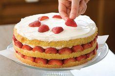 Como Montar uma Torta de Morangos Perfeita ~ PANELATERAPIA - Blog de Culinária, Gastronomia e Receitas
