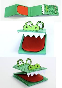 How to Make a Crocodile Paper Puppet – Make Film Play
