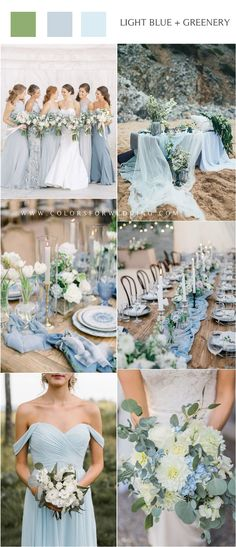 wedding Inspiration blue - 20 Light Blue Wedding Color Ideas for Spring 2020 Winter Wedding Colors, Unique Wedding Colors, Wedding Themes, Wedding Decorations, Wedding Dresses, Table Decorations, Wedding Ideas, Wedding Centerpieces, Wedding Inspiration