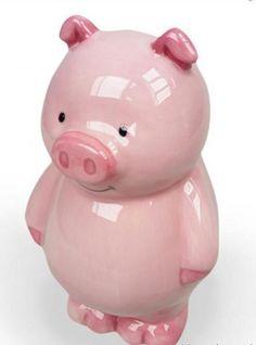 Ceramic Cartoon Pig Money Boxes