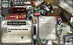 J.K. Rowling's old website... I so wish this still existed!