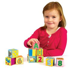 Smarty Blocks by Fat Brain Toy Co. - $28.95. Start your child with a simple stacking puzzle and fun blocks. Watch them advance through sequencing, reading, spelling, and logic cards.  Smarty Blocks build a solid foundation for your child's academic success! 160 Challenges.