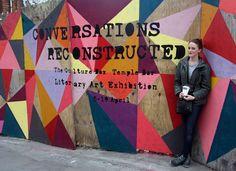 AnnaDoran, street artist in our show talks with Verena Kuhn on picturethisdublin.com