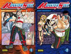 """""""MONSTER SOUL"""" De Hiro Mashima. Del autor de Fairy Tail, Rave y Monster High Orage llega esta serie compuesta por dos tomos. divertida aventura de humanos contra monstruos. 15 euros los dos números. 7,50 cada uno. B/N. Norma Editorial Manga NORMA EDITORIAL"""