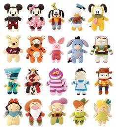 Disney Pook-a-Looz - I know they aren't new, but I just love these guys :)
