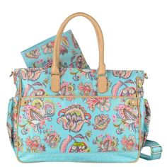 Oilily Summer Flowers Diaper Bags OES4195-525