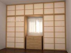 Porte d'interieur / pour placard / pour dressing / coulissante - PARETE ARMADIO A MURO - Cinius