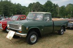 Old International Trucks | Good, old International trucks from the 1970s are a rare sight in the ...