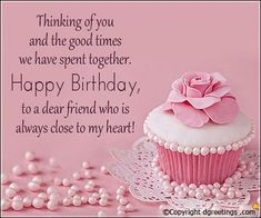 Happy Birthday Friend Wishes, Images, Quotes, Messages, Cards and Pictures Birthday Wishes For A Friend Messages, Birthday Greetings For Facebook, Happy Birthday Wishes For A Friend, Happy Birthday Wishes Images, Happy Birthday Cousin Female, Happy Birthday Wishes Friendship, Birthday Cake Quotes, Birthday Wishes Cake, Friend Birthday Quotes