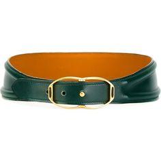 Leather Corset Belt, Real Leather Belt, Leather Buckle, Leather Belts, Green Leather, Leather Jewelry, Belt Buckles, Vintage Corset, Vintage Shoes