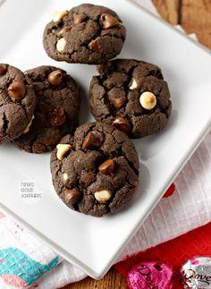 Chocolate Lover's Cake Mix Cookies   Mandy's Recipe Box
