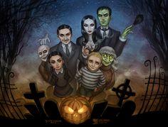 An Addams Family Halloween