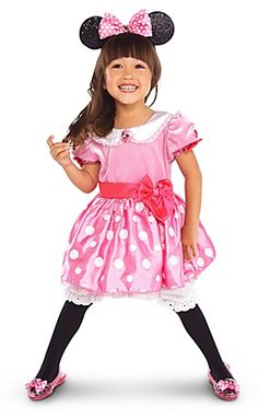 Minnie Mouse Halloween Costume for Toddler Girls. Opening soon @Disney Store Scarborough Town Centre. #Disney