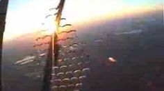 """Sky Diving at it's best, via YouTube; music-""""It's Magic"""" by Sky Pilot"""