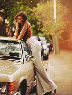 #JenniferMassaux - #MercedesBenz SL by #StevenChee for #ShopTillYouDrop april 2011