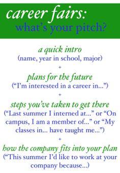 How to write an elevator speech