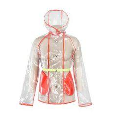 THE CLEAR RAINCOAT Clear Raincoat, Darth Vader, Winter, Room, Fashion, Moda, Fashion Styles, Transparent Raincoat, Fashion Illustrations
