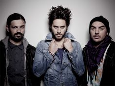 Tomo, Jared, Shannon. 30 Seconds to Mars