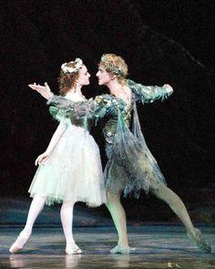 ABT's Gillian Murphy and David Hallberg in Frederick Ashton's 'A Midsummer Night's Dream'. Photo: Gene Schiavone.