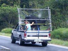 Redneck cattle hauler