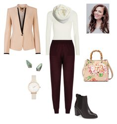"""""""#142"""" by snows22 on Polyvore featuring moda, Wolford, STELLA McCARTNEY, Topshop, Ted Baker, Gucci, Kendra Scott, Olivia Burton e Atwell"""