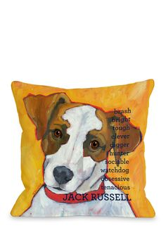 Jack Russell Pillow for my baby