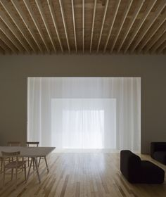 Image 16 of 20 from gallery of Layered House / Jun Igarashi Architects. Photograph by Jun Igarashi Architects Minimal Architecture, Japanese Architecture, Interior Architecture, Minimalist Interior, Minimalist Living, Japanese Interior, Interior Decorating, Interior Design, Wood Interiors