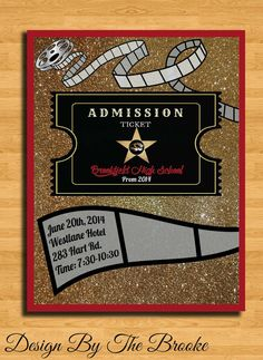 Old Hollywood Glam Themed Prom/Special Event by DesignByTheBrooke, $15.00
