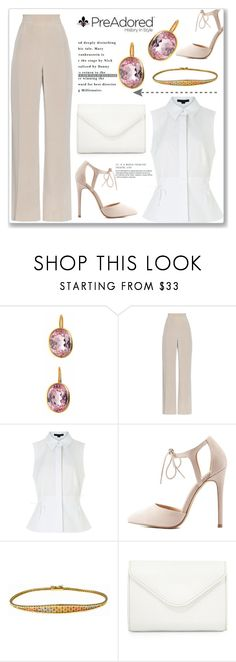 """""""Pre Adored 7/II"""" by amra-mak ❤ liked on Polyvore featuring MaxMara, Alexander Wang, Charlotte Russe, Neiman Marcus and PreAdored"""