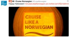 Top Halloween Posts from Cruise Lines