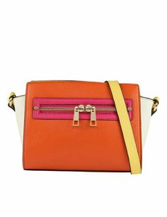 Accessories & more - Aldo Colourblock - monstylepin #fashion #accessories #handbag #aldo #colourblock #orange #trend #crossbodybag