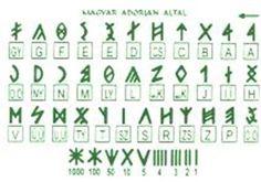Runic Alphabet   Hungarian runic alphabet