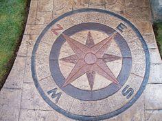 Compass Stamp