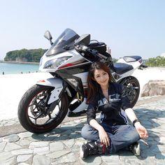 いいね!332件、コメント21件 ― SHIORIさん(@sioripopn)のInstagramアカウント: 「初めてのソロツー❤ 久しぶりのバイク楽しかったなぁ✨ 走行距離400㌔!! やっぱり、バイク乗ったら、内太もも痛いんやけど~(笑) . . #bike #ツーリング #和歌山 #白良浜 #sea…」