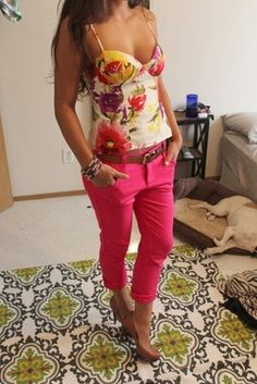 Cute spring outfit! <3