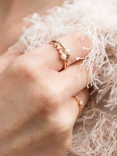 rose gold and tiny pearls for a boho chic look I NEWONE-SHOP.COM