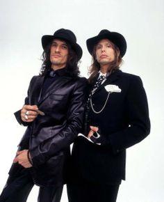 Steven + joe = Aerosmith