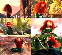 Spirit of Summer - Merida