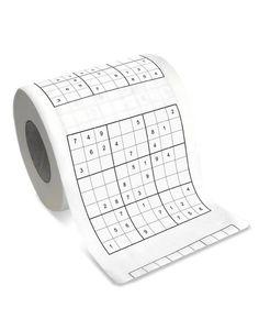 Sudoku Toilet Paper - ha!