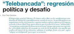 Partidos dan lugar en el Congreso a Televisa y TV Azteca. Se conforma telebancada. Busca @RevistaZocalo en @solosanborns y @LibreriasGandhi.