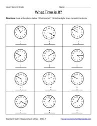 homeschool math on pinterest second grade math telling time and area and perimeter. Black Bedroom Furniture Sets. Home Design Ideas