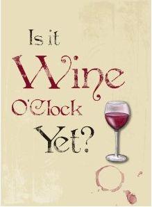 Ja! Wijntijd!