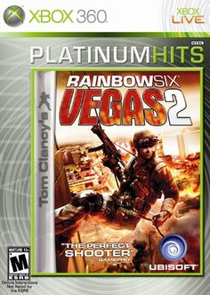 Tom Clancy's Rainbow Six: Vegas 2 Platinum Hits - Xbox 360 - Larger Front