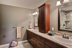(FC8)- Jasmine Floor Plan- Master Bathroom with Custom Tile Shower.