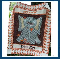 (7) Name: 'Quilting : 50% off Elephant Child Baby Quilt