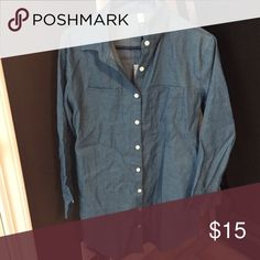 Chambray dress NWOT Dresses Long Sleeve