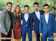"""616 Likes, 2 Comments - Il Volo Mundial Oficial (@ilvolomundialoficial) on Instagram: """"By @homeandfamilytv Don't miss a special musical performance by @ilvolomusic ! TMRW at 10a/9c on…"""""""