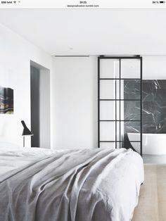 Cleanes Schlafzimmer